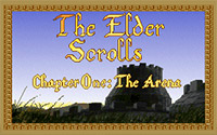 Elder Scrolls: Arena, The