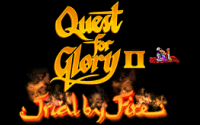 Quest For Glory II: Trial By Fire Remake